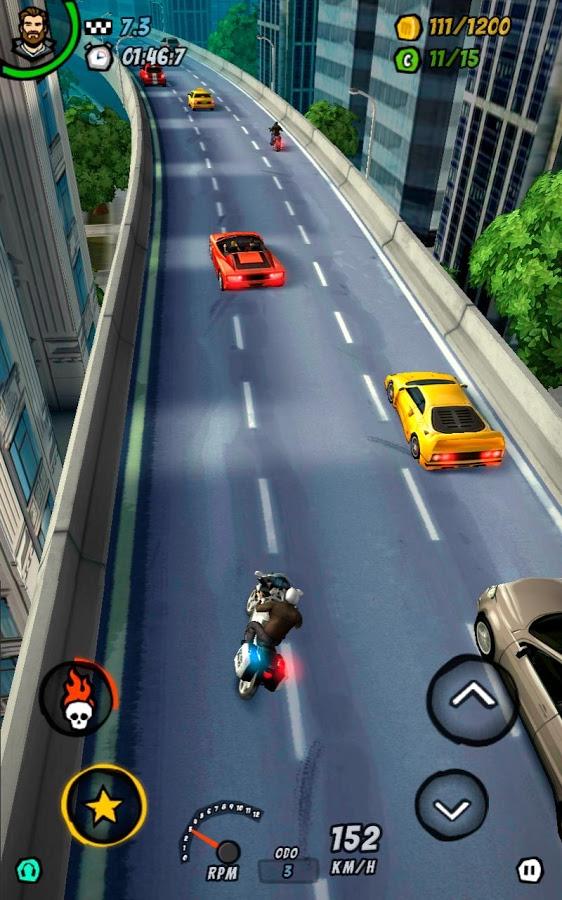 دانلود Moto Racing 2: Burning Asphalt 1.112C - بازی موتور سواری اندروید + مود