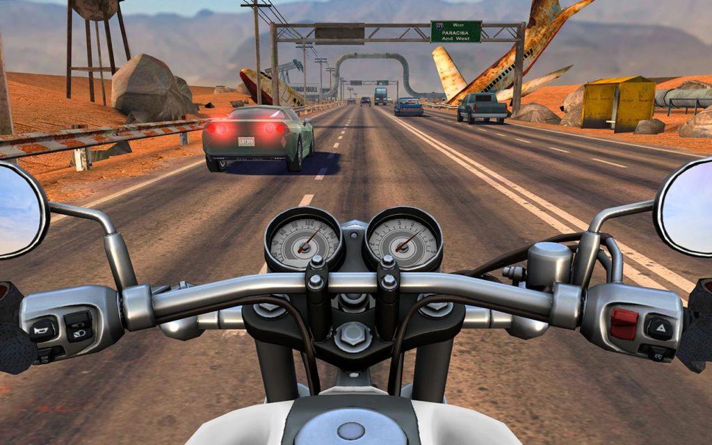 دانلود Moto Rider GO: Highway Traffic 1.21.7 - بازی موتور سواری در اتوبان اندروید + مود