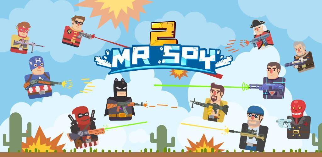 Mr Spy 2 - Bullet Trigger Shot