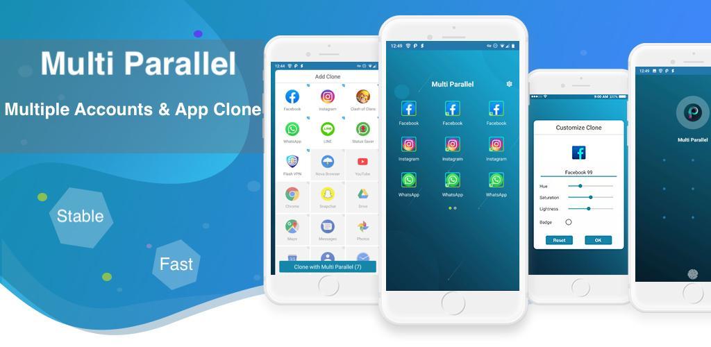 Multi Parallel - Multiple Accounts & App Clone Premium