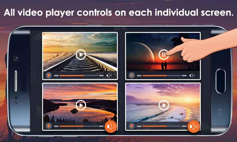 دانلود Multi Screen Video Player Premium 1.5 - ویدئو پلیر چندگانه مخصوص اندروید!