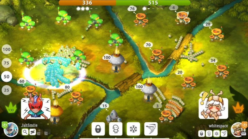 دانلود Mushroom Wars 2 2.3.5 - بازی پرطرفدار جنگ قارچ ها 2 اندروید + دیتا