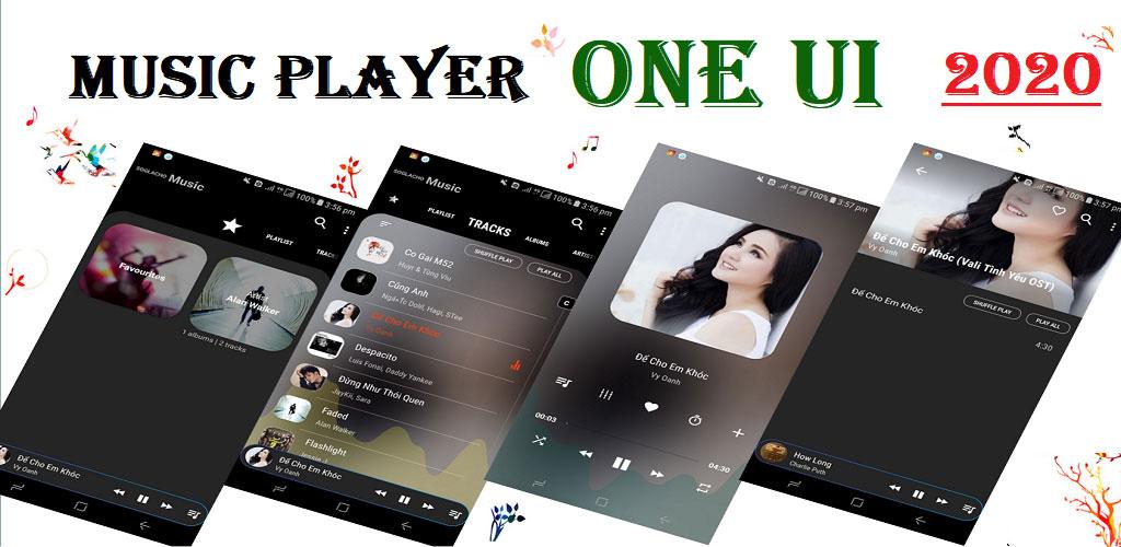 Music Player One UI (PRO) - No ADS