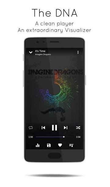دانلود Music Player Pro - DNA 2.0.0 - موزیک پلیر هوشمند و ساده اندروید