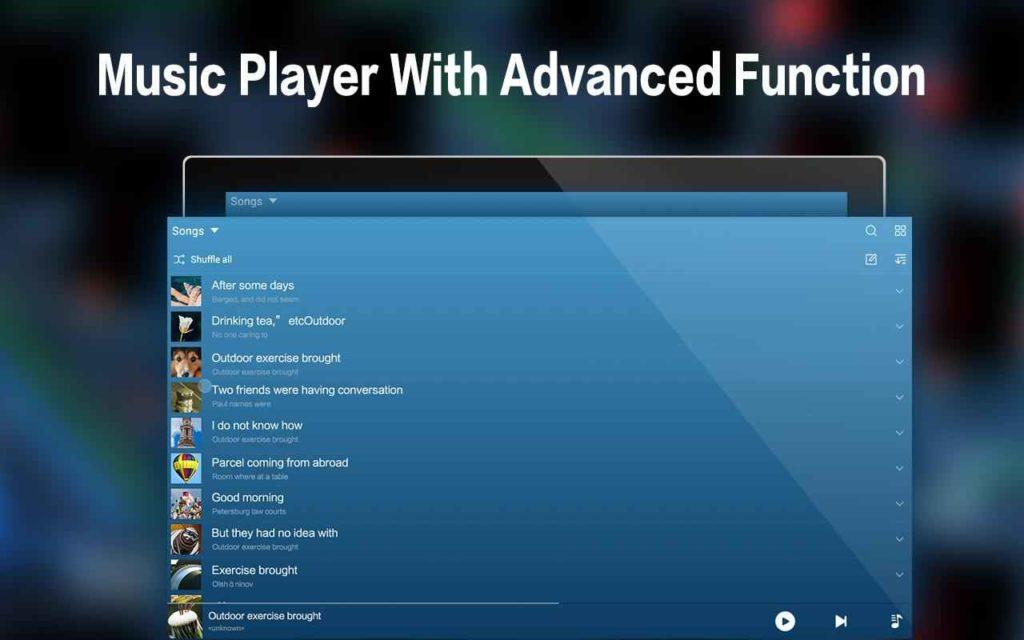 دانلود Music Plus - MP3 Player 1.8.1 - موزیک پلیر قدرتمند، گرافیکی، کم حجم و زیبا اندروید