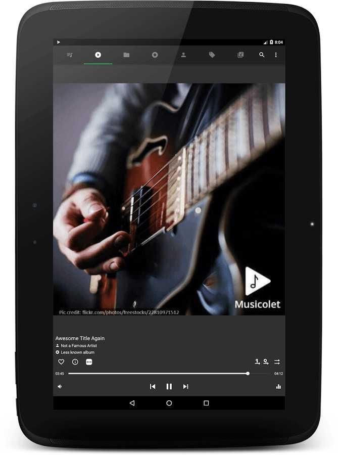 دانلود Musicolet Music Player 4.1 b157 - موزیک پلیر کم حجم و قدرتمند اندروید + بتا