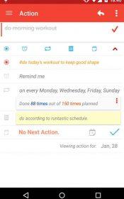 My Effectiveness: To do, Tasks