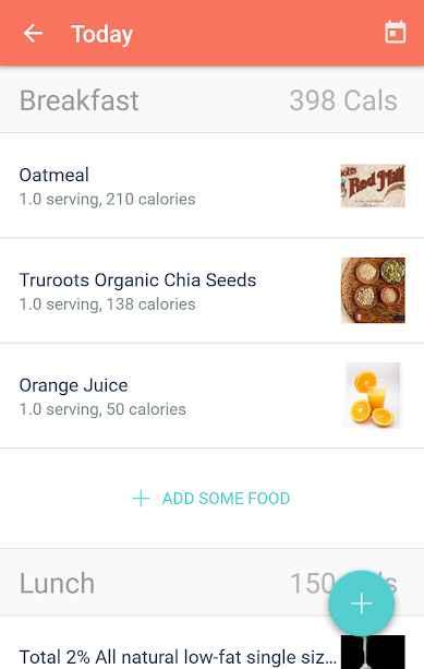 دانلود MyPlate Calorie Tracker Full 3.5.1 - اپلیکیشن کالری شمار و رژیم غذایی اندروید !