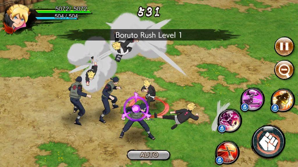 دانلود NARUTO X BORUTO NINJA VOLTAGE 4.2.1 - بازی اکشن