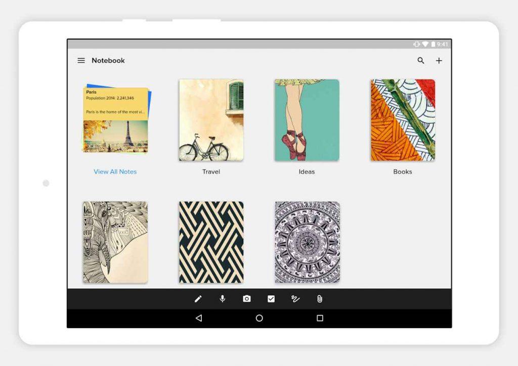 دانلود NOTEBOOK - Take Notes, Sync 4.2.16 - برنامه یادداشت برداری پر امکانات اندروید