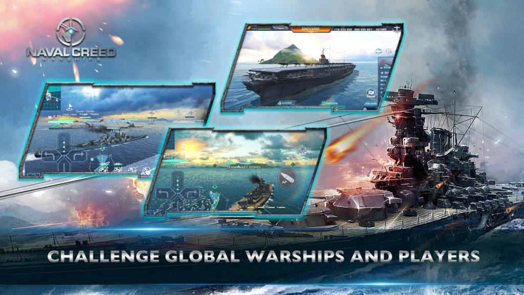 دانلود Naval Creed:Warships 1.8.3 - بازی اکشن نبرد ناو ها اندروید !