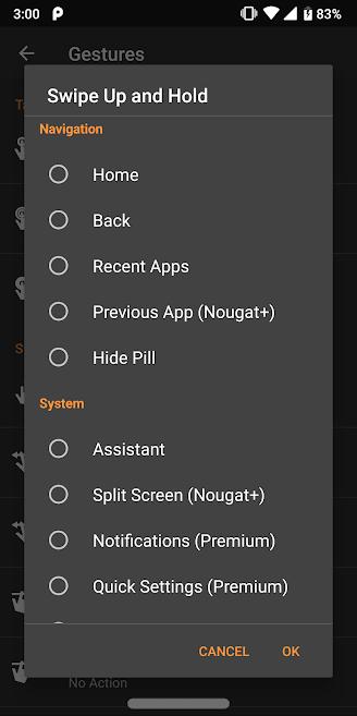 دانلود Navigation Gestures Premium 1.15.2 - برنامه میانبر حرکتی نوار ناوبری اندروید + مود