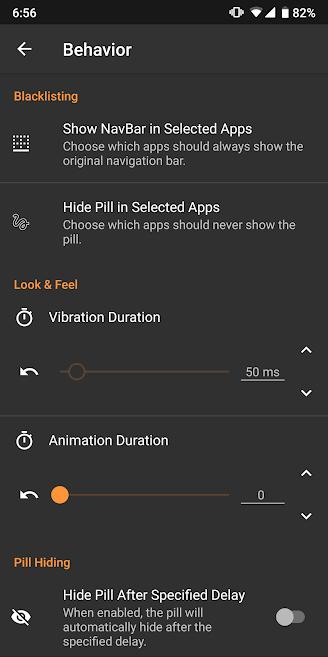 دانلود Navigation Gestures Premium 1.17.1 - برنامه میانبر حرکتی نوار ناوبری اندروید + مود