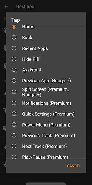 دانلود Navigation Gestures Premium 1.7.20 - برنامه میانبر حرکتی نوار ناوبری اندروید + مود