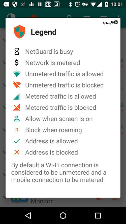 دانلود NetGuard Pro 2.213 - قطع دسترسی برنامه های اندروید به اینترنت + مود
