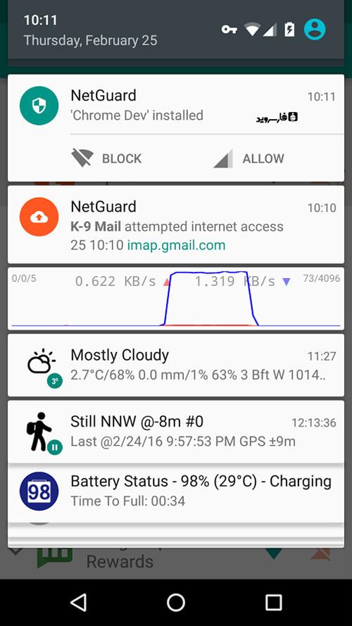 دانلود NetGuard Pro 2.248 - قطع دسترسی برنامه های اندروید به اینترنت + مود