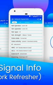 Network Signal Info & Network Refresher