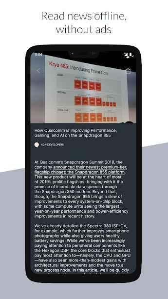دانلود NewsFeed Launcher 5.3.416 - لانچر خبری و سریع نیوزفید اندروید + بتا
