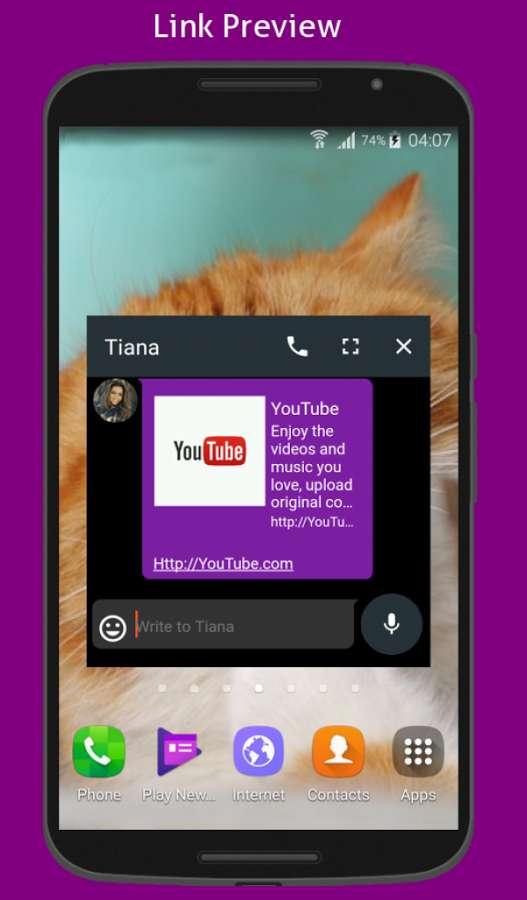 دانلود Niaje Messenger SMS & MMS Full 3.0.3 - مدیریت حرفه ای پیامک اندروید