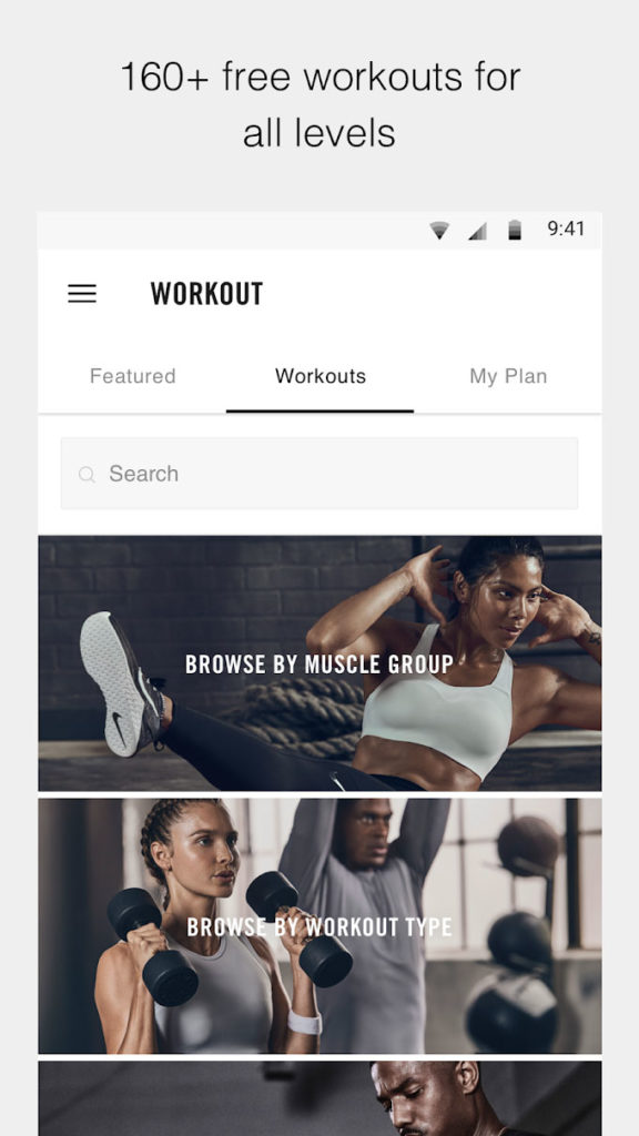 دانلود Nike Training Club - Workouts & Fitness Plans 5.18.1 پ - برنامه تمرینات ورزشی