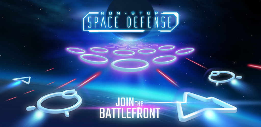 Non-Stop Space Defense - Infinite Aliens Shooter