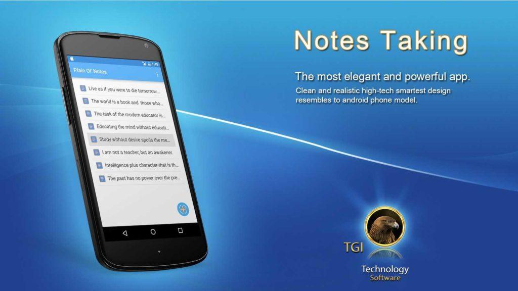 دانلود Notes Taking Pro 2.1.9 - برنامه یادداشت هوشمند و ساده اندروید