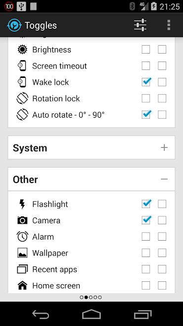 دانلود Notification Toggle Full 3.8.9 - قرار دادن میانبر در استاتوس بار اندروید
