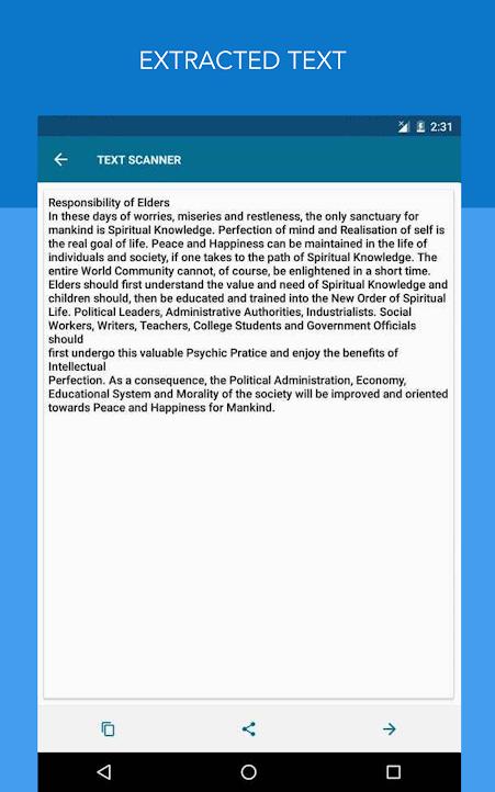 دانلود OCR Text Scanner Pro 1.9.9 - برنامه اسکنر سریع متن اندروید !