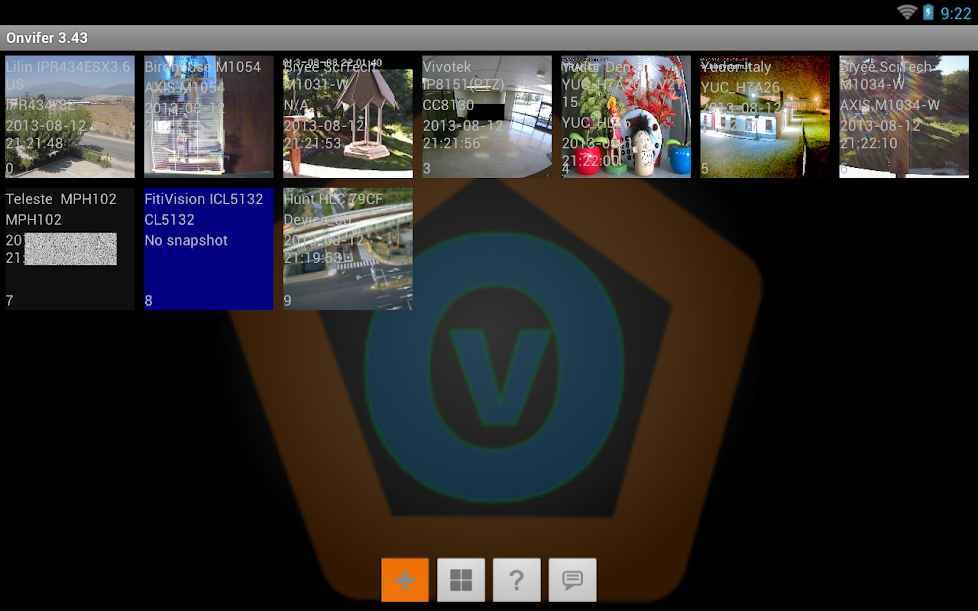 دانلود ONVIF IP Camera Monitor (Onvifer) Pro 12.39 - برنامه مدیریت دوربین های شبکه مخصوص اندروید !