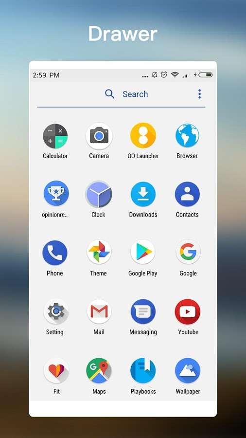 دانلود OO Launcher for Android O 8.0 PRIME 5.8 - لانچر محبوب اندروید هشت !
