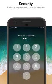 OS 11 Locker - Keypad Lock Screen (Phone 8 Style)