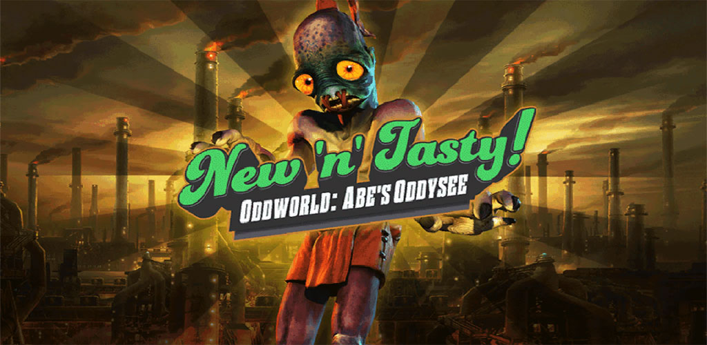 Oddworld New n Tasty Cover دانلود Oddworld: New 'n' Tasty 1.0 – بازی اکشن خارق العاده آندروید + دیتا