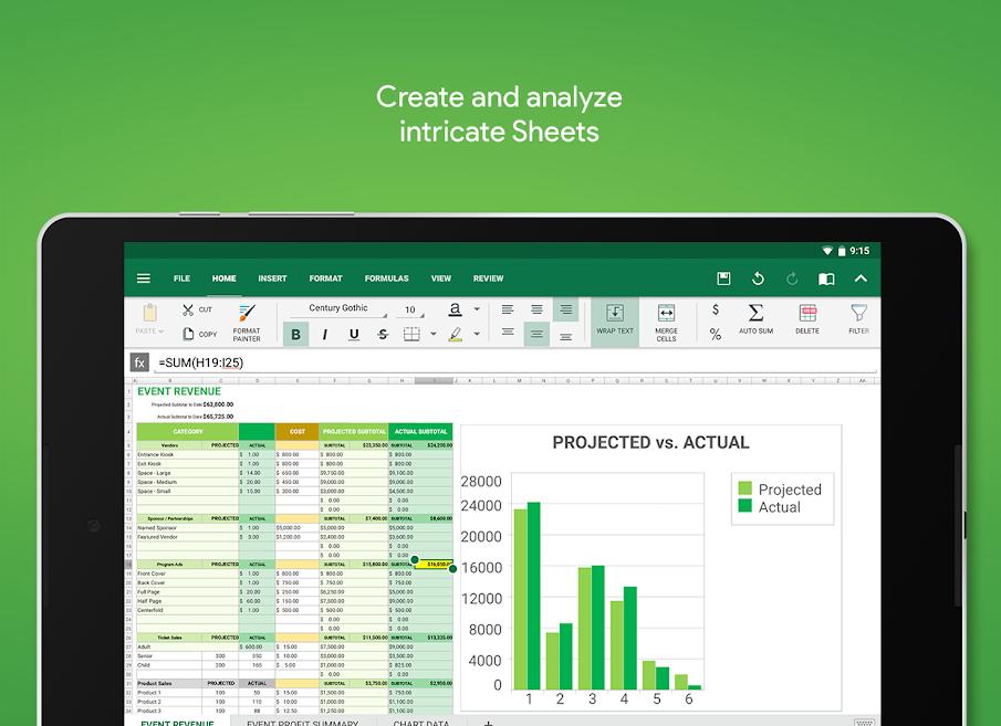 دانلود OfficeSuite 9 Pro + PDF 10.8.21506 - آفیس سوئیت 9 اندروید + پک فونت + مود