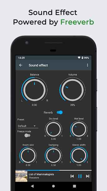 دانلود Omnia Music Player - MP3 Player, APE Player Premium 1.2.7 - پخش کننده صوتی قدرتمند و آفلاین اومنیا اندروید + مود