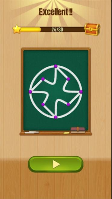 دانلود One Line - Curve Drawing 1.1.5 - بازی پازل خاص