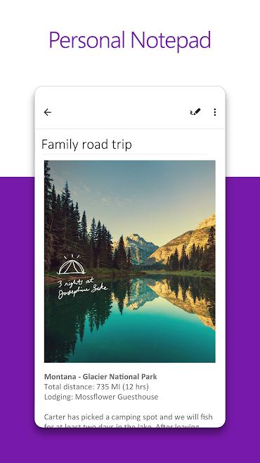 دانلود OneNote 16.0.11901.20184 - نرم افزار OneNote مایکروسافت اندروید