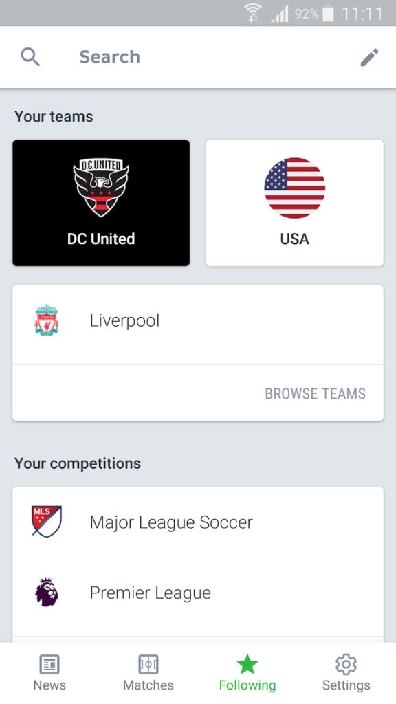 دانلود Onefootball - Soccer Scores 11.19.0.448 - اپلیکیشن جامع فوتبال مخصوص اندروید + مود