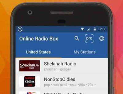 Online Radio Box - free player