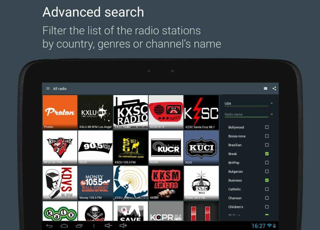 دانلود Online Radio Yo!Tuner Full 1.10.0 - برنامه ایستگاه های رادیویی محبوب اندروید