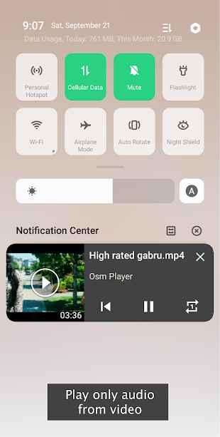 دانلود Osm Video Player - FREE HD Video Player App 2.2 - برنامه ویدئو پلیر عالی و پر امکانات او اس ام اندروید!