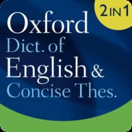 Oxford Dictionary of English & Thesaurus-Logo