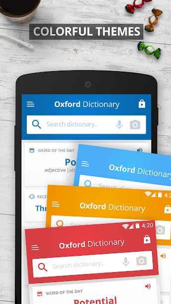 دانلود Oxford Dictionary of English Premium 11.2.546 - دیکشنری انگلیسی آکسفورد اندروید + مود + دیتابیس