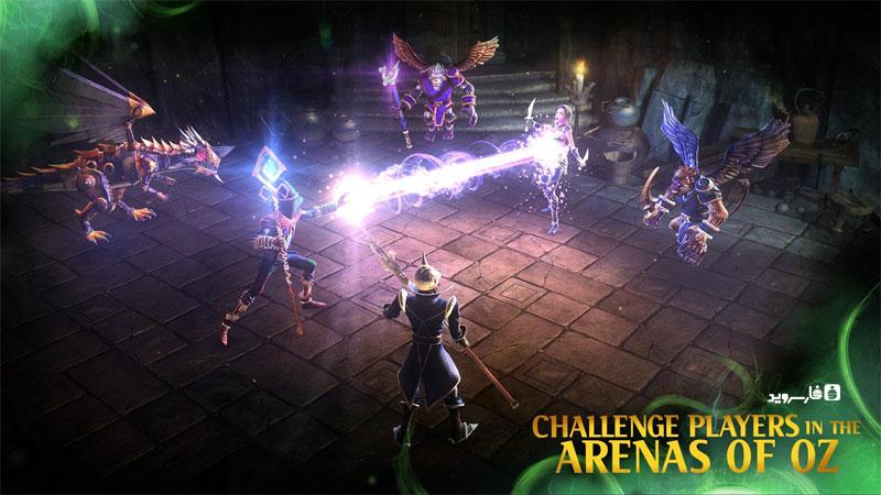 دانلود Oz: Broken Kingdom 3.1.2 - بازی نقش آفرینی خارق العاده قلمرو شکست خورده اندروید + مود + دیتا