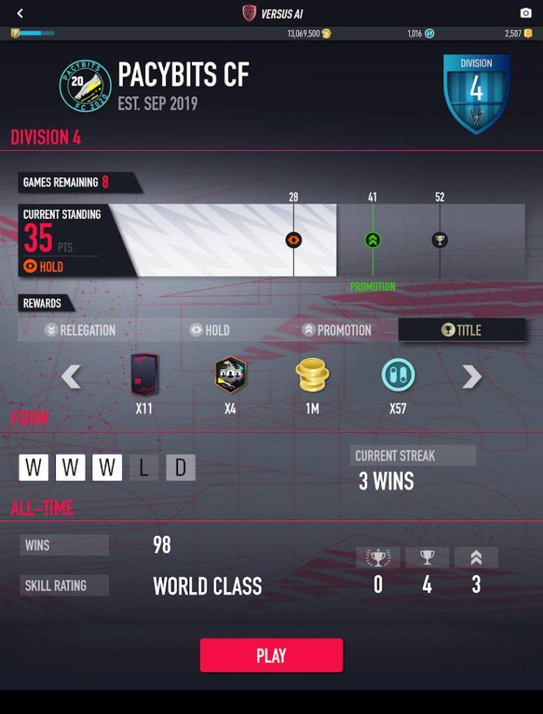 دانلود PACYBITS FUT 20 1.0.17 - بازی ورزشی