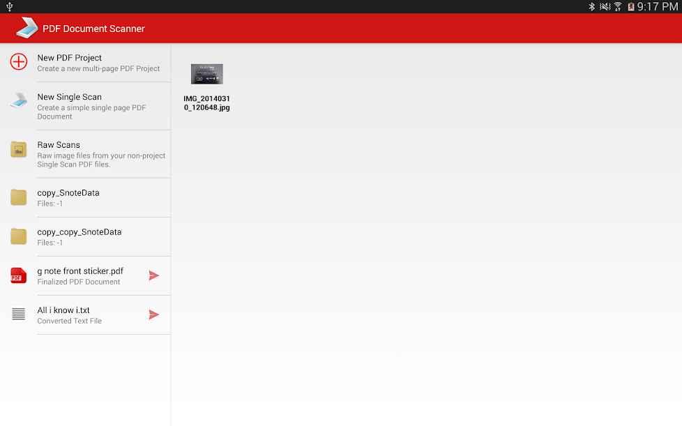 دانلود PDF Document Scanner Classic Premium 3.3.3 - اسکنر کلاسیک و پر امکانات اسناد اندروید !
