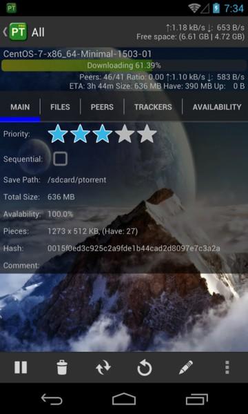 دانلود PTorrent Pro - Torrent Client 1.7.6 - کلاینت حرفه ای و ساده تورنت اندروید