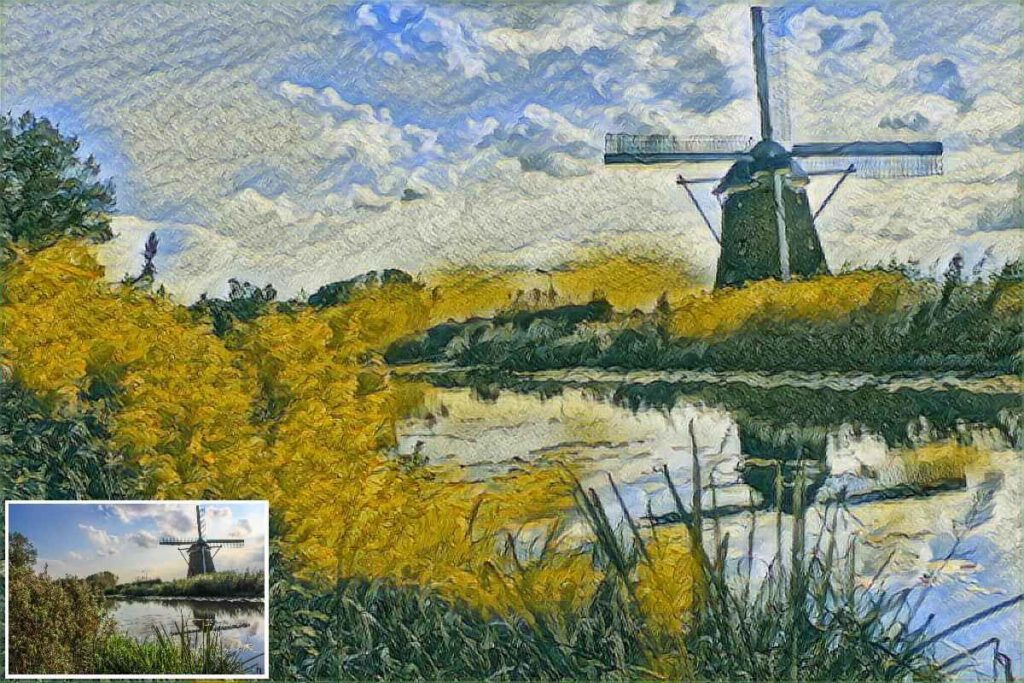 دانلود Painnt - Pro Art Filters Full 1.09.7 - برنامه تبدیل عکس ها به آثار هنری اندروید !