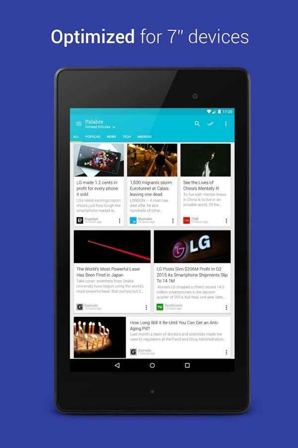 دانلود Palabre - Feedly RSS Reader News Full 3.2.4 - آر اس اس خوان اندروید !