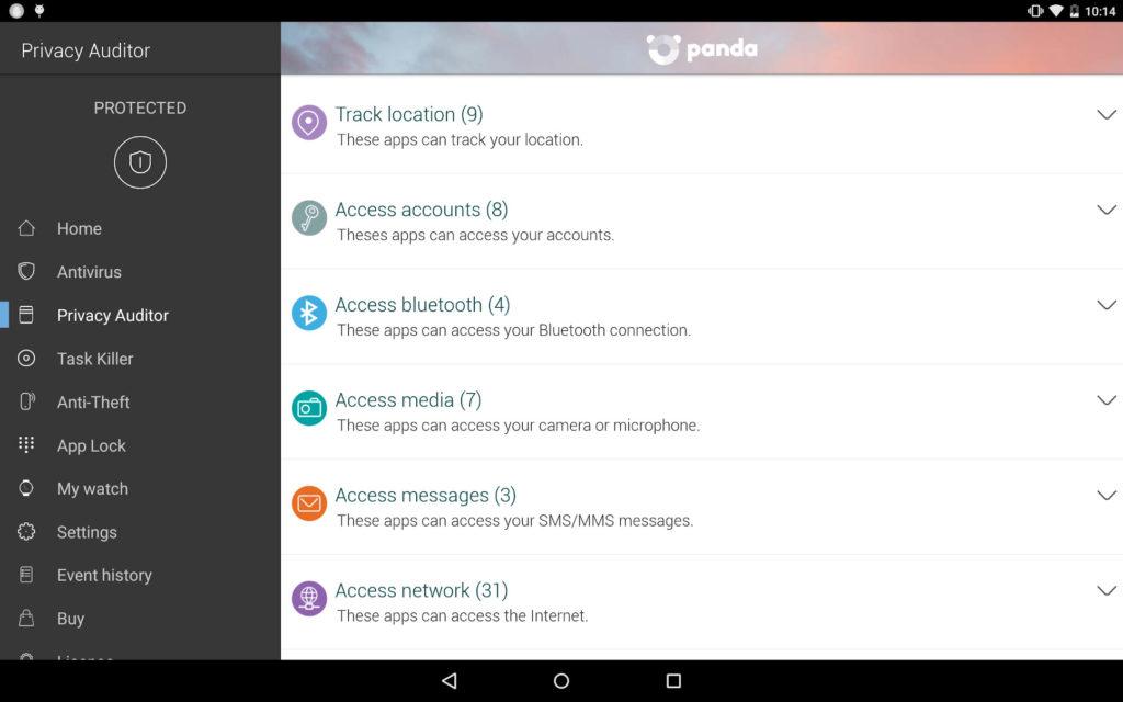 دانلود Panda Mobile Security 3.4.2 - اپلیکیشن امنیتی پاندا موبایل اندروید