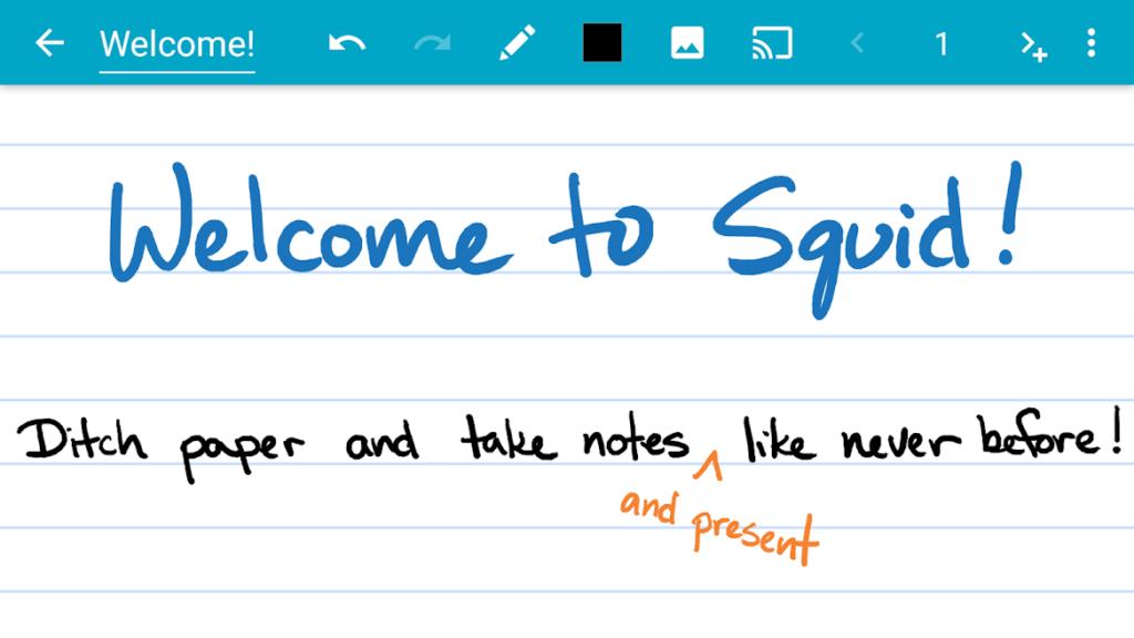 دانلود Squid - Take Notes & Markup PDFs Premium 3.4.12.1-GP - دفترچه یادداشت قدرتمند و پرطرفدار اندروید!